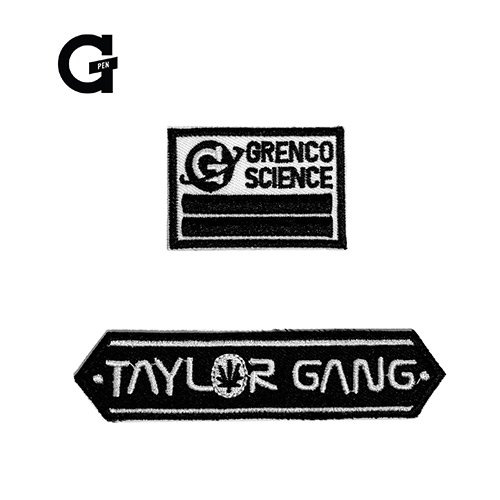 <img class='new_mark_img1' src='https://img.shop-pro.jp/img/new/icons58.gif' style='border:none;display:inline;margin:0px;padding:0px;width:auto;' />GRENCO SCIENCE G-PEN × TAYLOR GANG Collaborations PATCH / ワッペン / Wiz Khalifa