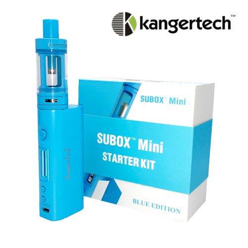 """KangerTech / SUBOX Mini KIT """"BLUE EDITION"""" / MODバッテリー+アトマイザー スターターKIT 限定カラー"""