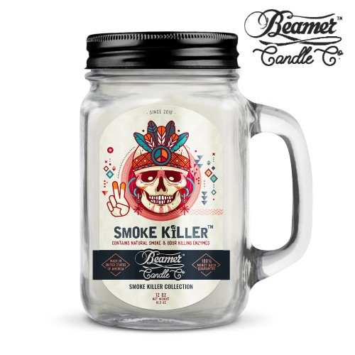BEAMER SMOKE KILLER COLLECTION 12oz CANDLE / SMOKE KILLER SCENT / 消臭キャンドル