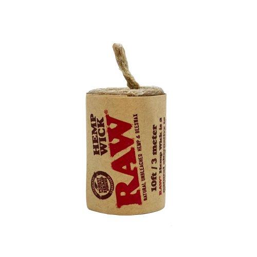 【メール便対応】 RAW - ヘンプウィック 3メートル