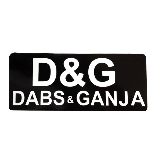 <img class='new_mark_img1' src='https://img.shop-pro.jp/img/new/icons11.gif' style='border:none;display:inline;margin:0px;padding:0px;width:auto;' />ステッカー / Dabs & Ganja