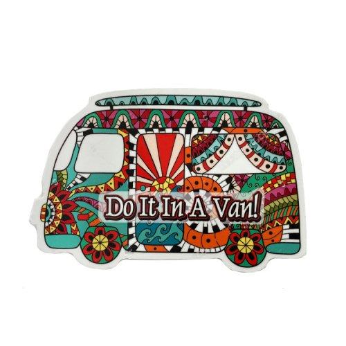 【メール便対応】ステッカー - Do It In A Van