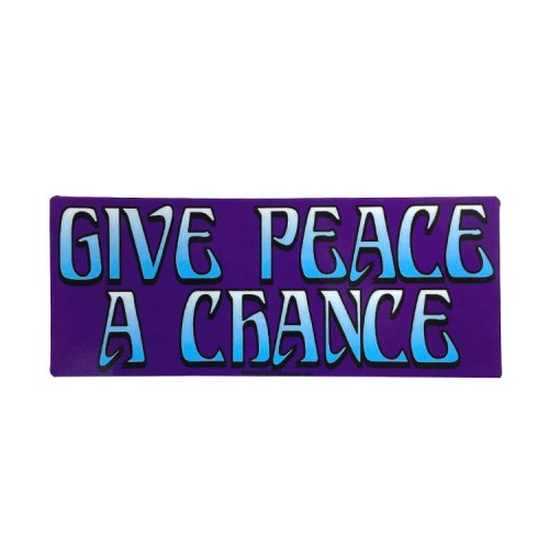 <img class='new_mark_img1' src='https://img.shop-pro.jp/img/new/icons11.gif' style='border:none;display:inline;margin:0px;padding:0px;width:auto;' />ステッカー / Give Peace A Chance