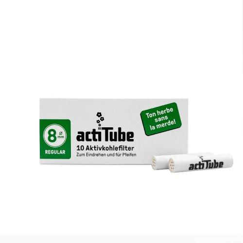 【メール便対応】 actiTube 活性炭フィルター 10本入り