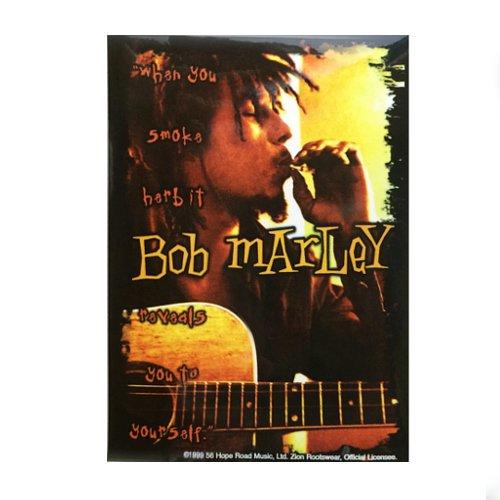 【メール便対応】 ステッカー - BOB MARLEY When You Smoke