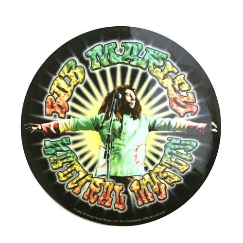 <img class='new_mark_img1' src='https://img.shop-pro.jp/img/new/icons58.gif' style='border:none;display:inline;margin:0px;padding:0px;width:auto;' /> ステッカー - BOB MARLEY NATURAL MYSTIC