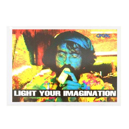 【メール便対応】 ステッカー - CHONG LIGHT YOUR IMAGINATION