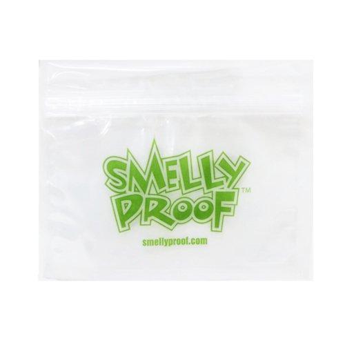 【メール便対応】 防臭ジップバッグ Smelly Proof Sサイズ(137×171mm) クリア