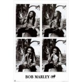 ポスター - BOB MARLEY SMOKING 4SHOT