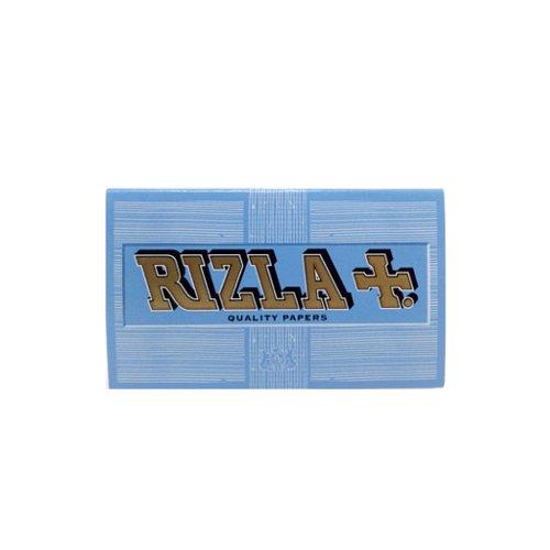 【メール便対応】 RIZLA ブルー シングルワイド 70mm ダブル