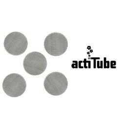 【メール便対応】 actitube スクリーン 5枚入り 15mm