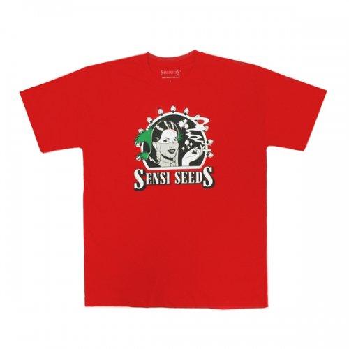 【メール便対応】 Sensi Seeds - オフィシャルロゴTシャツ レッド
