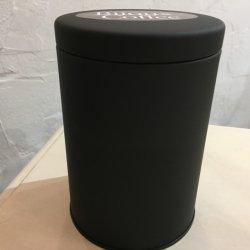 コーヒー豆保存缶(つやけし黒)