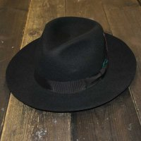 GANGSTER HAT [Black]