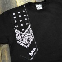 BALANCE STREET WEAR BANDANA SHOOTING T-Shirts[BLACK]