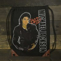 Michael Jackson Draw String Bag [BAD]