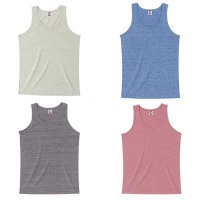 CROSS STITCH CR1104 TRI-BLEND TANK TOP[4 Color] -オリジナルプリント/オリジナル刺繍対応