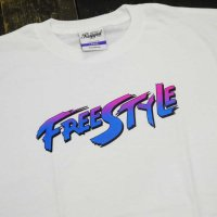 RUGGED FREE STYLE T-SHIRTS [WHITE]