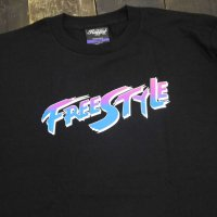 RUGGED FREE STYLE T-shirts [BLACK]