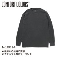 COMFORT COLORS CC6014 Garment Dyed 6.1oz Long Sleeve Tee  刺繍・プリント対応