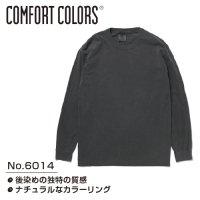 [ COMFORT COLORS ] CC6014 GARMENT DYED 6.1oz LONG SLEEVE TEE - コンフォートカラーズ ロングスリーブ Tシャツ (プリント/刺繍対応)