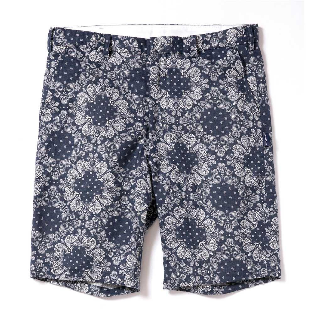APPLEBUM Linen Paisley Short Pants [N...