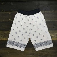 [SUPER SALE/50%OFF!!]Champion Paisley Short Pant[WHITE]