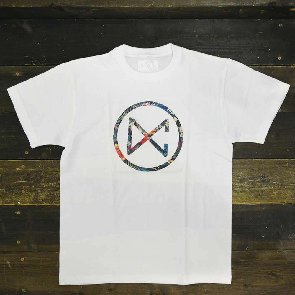 DC CLOTHING BOTANICAL CIRCLE LOGO T-SHIRTS[WHT]