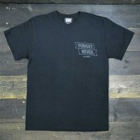 FORGET NEVER  RIBBON ANKH T-SHIRT[BLK/BLK] DC LIMITED