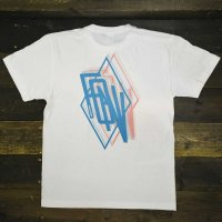 FORGET NEVER FGNV 3D DIAMOND T-SHIRT[WHT]