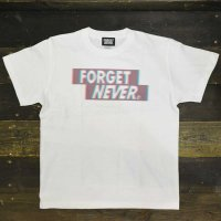 FORGET NEVER  3D BOX T-SHIRT[WHT/RED]