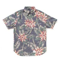 [SUPER SALE/20%OFF!!]APPLEBUM Dungaree Aloha S/S Shirt[NAVY]