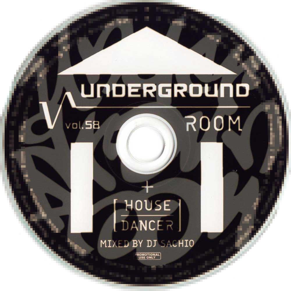 DJ SACHIO - UNDERGROUND ROOM VOL.58