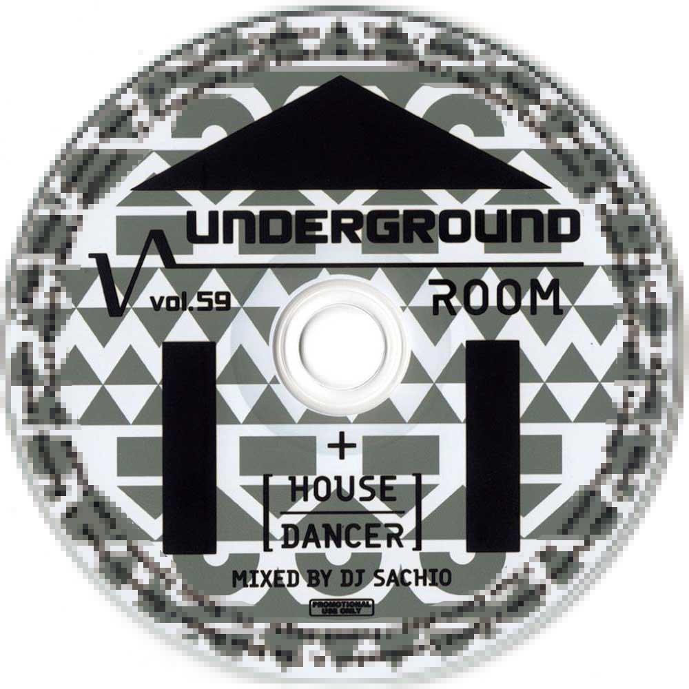 DJ SACHIO - UNDERGROUND ROOM VOL.59