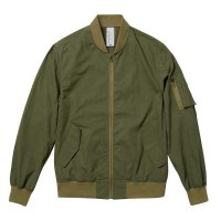 UNITED ATHLE LIGHT MA-1 JACKET -  プリント対応