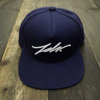 [SUPER SALE/20%OFF!!]JSLV SNAPBACK SIGNATURE WOOL[NAVY]