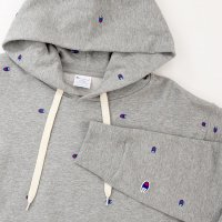 [SUPER SALE/半額!!]Champion PULLOVER HOODED SWEATSHIRT[OXFORDGRAY] - C3-J116