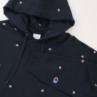 [SUPER SALE/30%OFF!!]Champion PULLOVER HOODED SWEATSHIRT[NAVY] - C3-J116