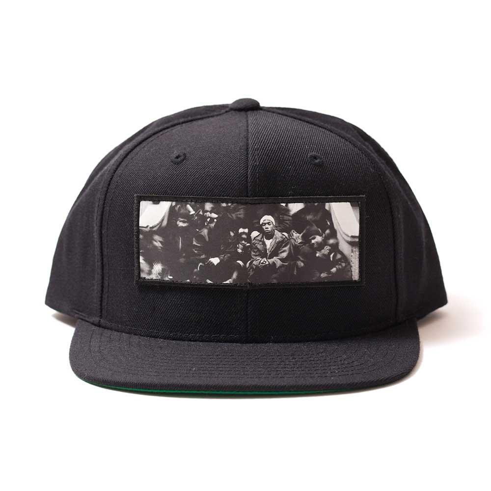 APPLEBUM HERLEM SNAPBACK CAP[BLACK]