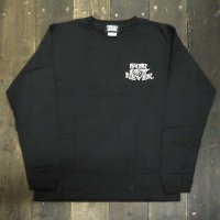 FORGET NEVER  TIE BREAK L/S T-SHIRTS[ESPRESSO]