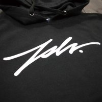 [SUPER SALE/30%OFF!!]JSLV PULLOVER HOODIE SIGNATURE[BLACK]