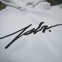 JSLV PULLOVER HOODIE SIGNATURE[WHITE]