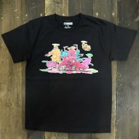 [SUPER SALE/30%OFF]DC CLOTHING × TAKU OBATA '1112' B-Boy Abstract T-shirts[BLACK]