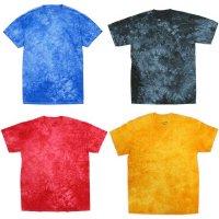 DYENOMITE TIE DYE CRYSTAL T-SHIRTS[4color] タイダイクリスタルTシャツ オリジナルプリント/オリジナル刺繍対応