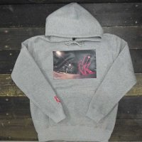 DC CLOTHING MIDNIGHT FUNK HOODIE[MIX GRAY]