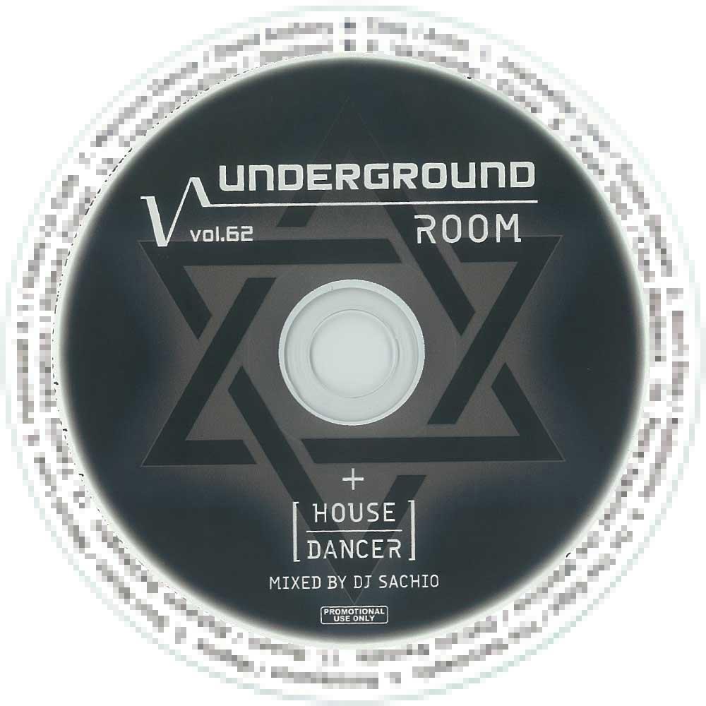 DJ SACHIO - UNDERGROUND ROOM VOL.62