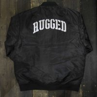 RUGGED ARMY ARCH MA-1 JACKET[BLACK]