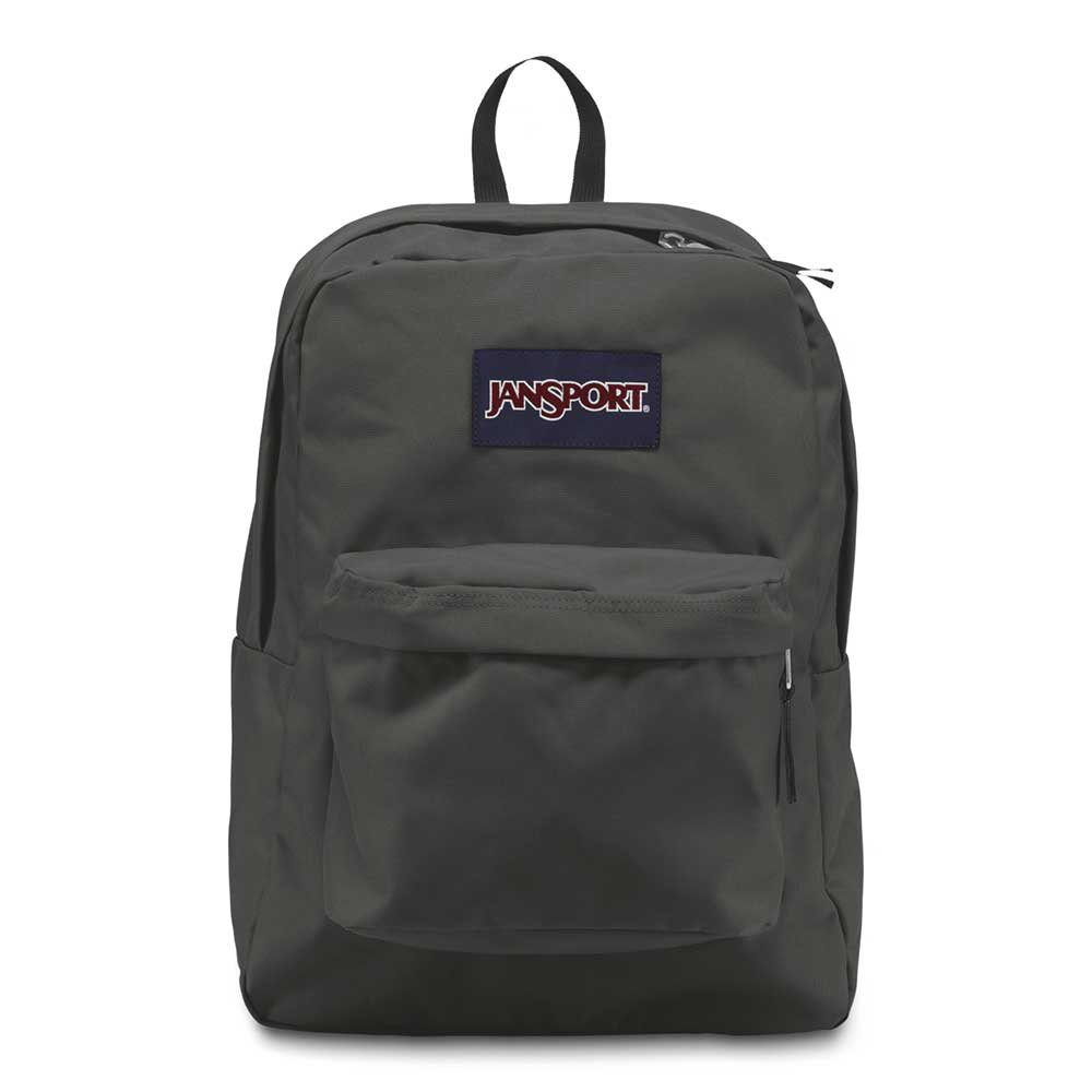 JANSPORT SUPER BREAK  PACK BACKPACK[FORGE GREY]