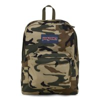 JANSPORT SUPER BREAK  PACK BACKPACK[DESERT BEIGE CONFLICT CAMO]