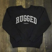 RUGGED on Champion ARCH LOGO REVERSE WEAVE SWEAT[BLACK]